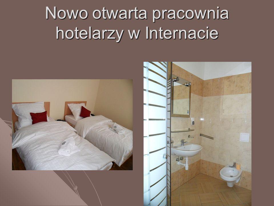 Nowo otwarta pracownia hotelarzy w Internacie