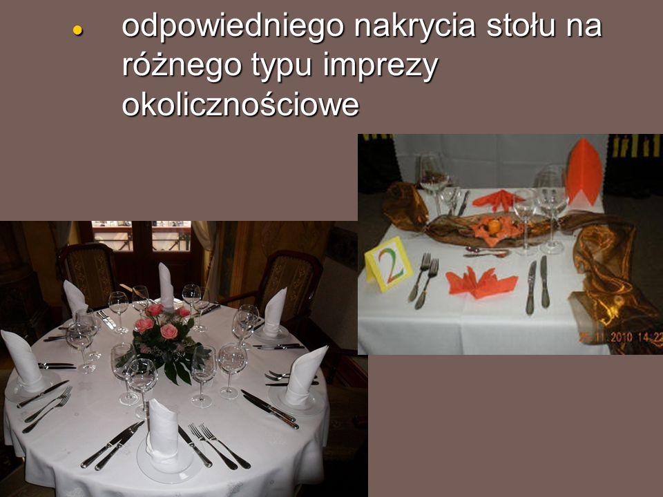 odpowiedniego nakrycia stołu na różnego typu imprezy okolicznościowe odpowiedniego nakrycia stołu na różnego typu imprezy okolicznościowe