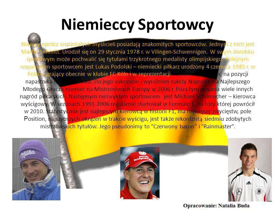 Niemieckie osoby ze świata filmu Pomimo przedawnionych już stereotypów dotyczących wszystkiego co niemieckie należy jednak zwrócić uwagę na republikań