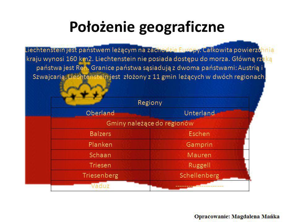 G łowa państwa Księstwo Liechtensteinu za głowę państwa posiada dziedzica tronu w linii męskiej. Obecnie jest nim Jan Adam II Liechtenstein. Głowa pań
