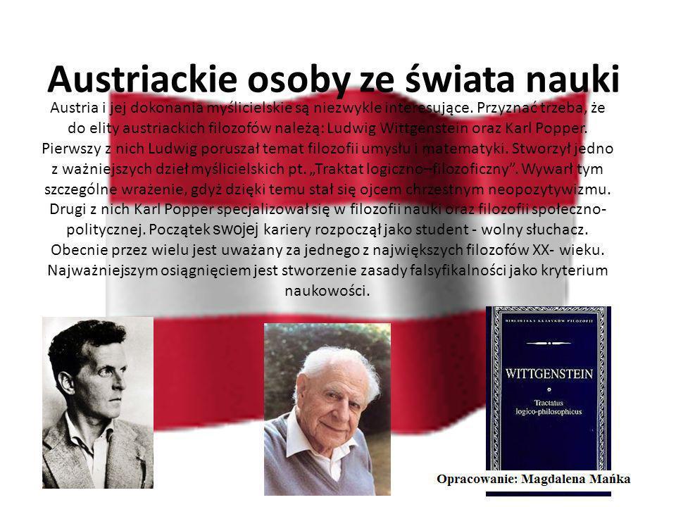 Zabytki Austrii Austriackie zabytki podobnie jak niemieckie czy szwajcarskie są równie atrakcyjne. Dobrym tego przykładem może być Opactwo Benedyktynó