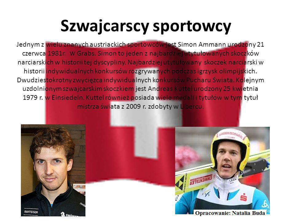 Szwajcarskie osoby ze świata filmu Szwajcarska sztuka filmowa wyróżnia się małą skal ą na tle świata. Obserwacje skierowane na kinematografię szwajcar