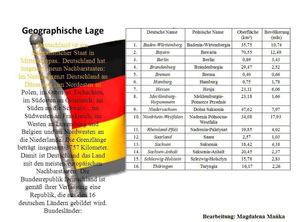 Deutsches Reichsoberhaupt Eine Bundesrepublik Deutschland besitzt einen Bundespräsidenten auf dem Zeitraum fünf Jahre durch die Bundeversammlung. Ein