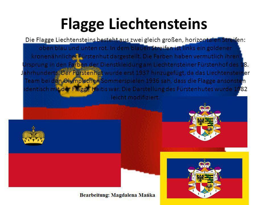 Wappen Liechtensteins Das Staatswappen Liechtensteins ist das Wappen des Fürstenhauses von Liechtenstein und wurde am 4. Juni 1957 eingeführt. Der Wap
