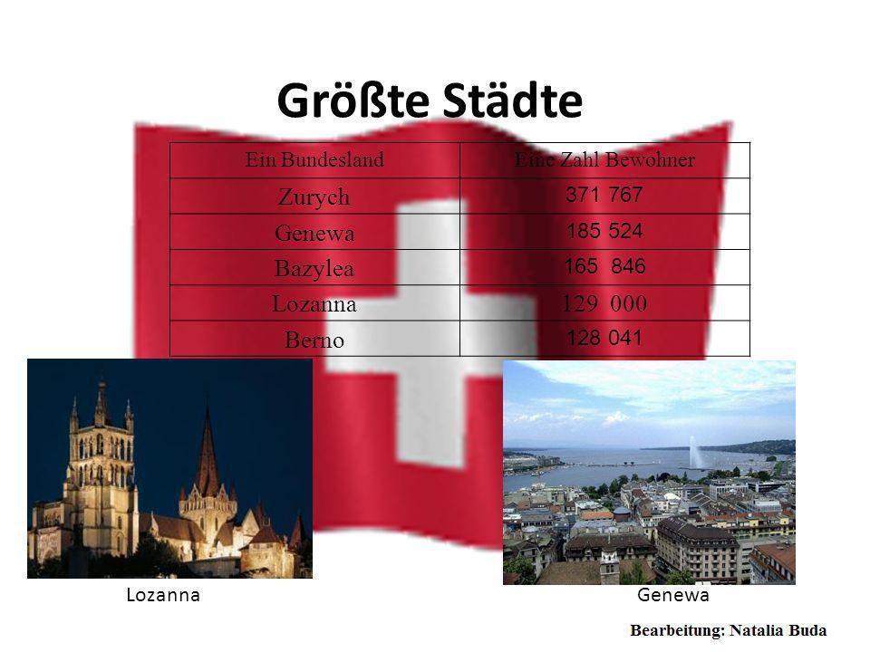 Geographische Lage Schweizerische Eidgenossenschaft, ist ein Alpenland in Mitteleuropa und ein Binnenstaat. Sie grenzt an Deutschland, Österreich, Lie