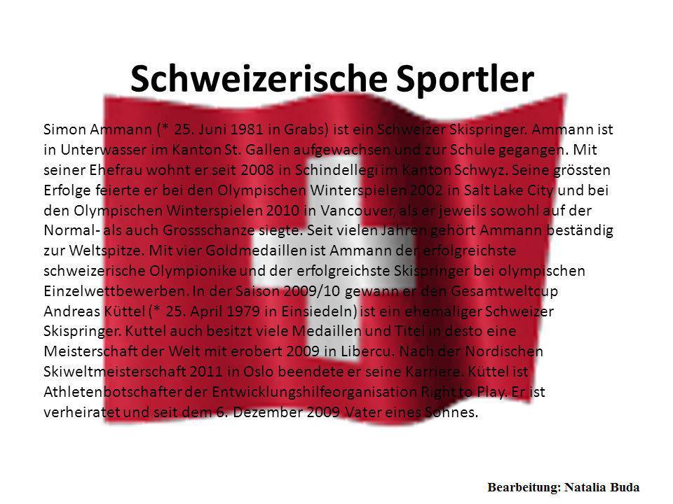 Schweizerische Persönlichkeiten