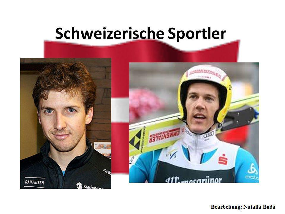Schweizerische Sportler Simon Ammann (* 25. Juni 1981 in Grabs) ist ein Schweizer Skispringer. Ammann ist in Unterwasser im Kanton St. Gallen aufgewac