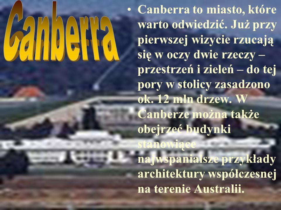 Canberra to miasto, które warto odwiedzić.