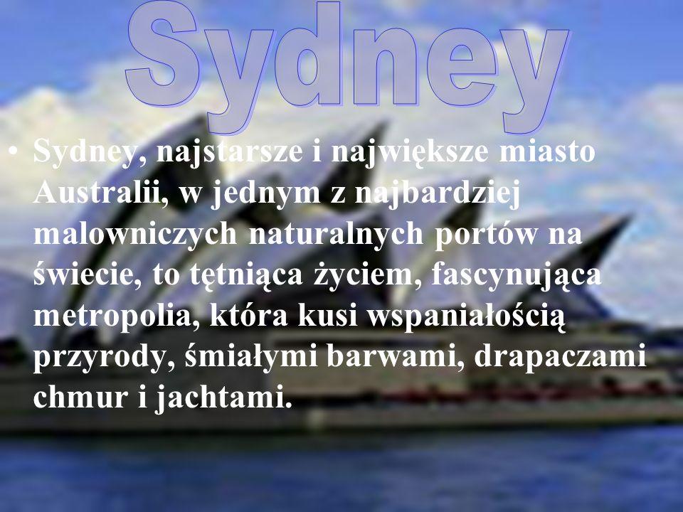 Sydney, najstarsze i największe miasto Australii, w jednym z najbardziej malowniczych naturalnych portów na świecie, to tętniąca życiem, fascynująca metropolia, która kusi wspaniałością przyrody, śmiałymi barwami, drapaczami chmur i jachtami.