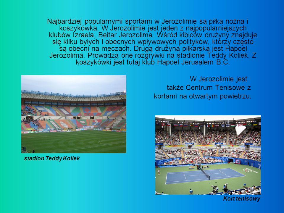 Najbardziej popularnymi sportami w Jerozolimie są piłka nożna i koszykówka. W Jerozolimie jest jeden z najpopularniejszych klubów Izraela, Beitar Jero