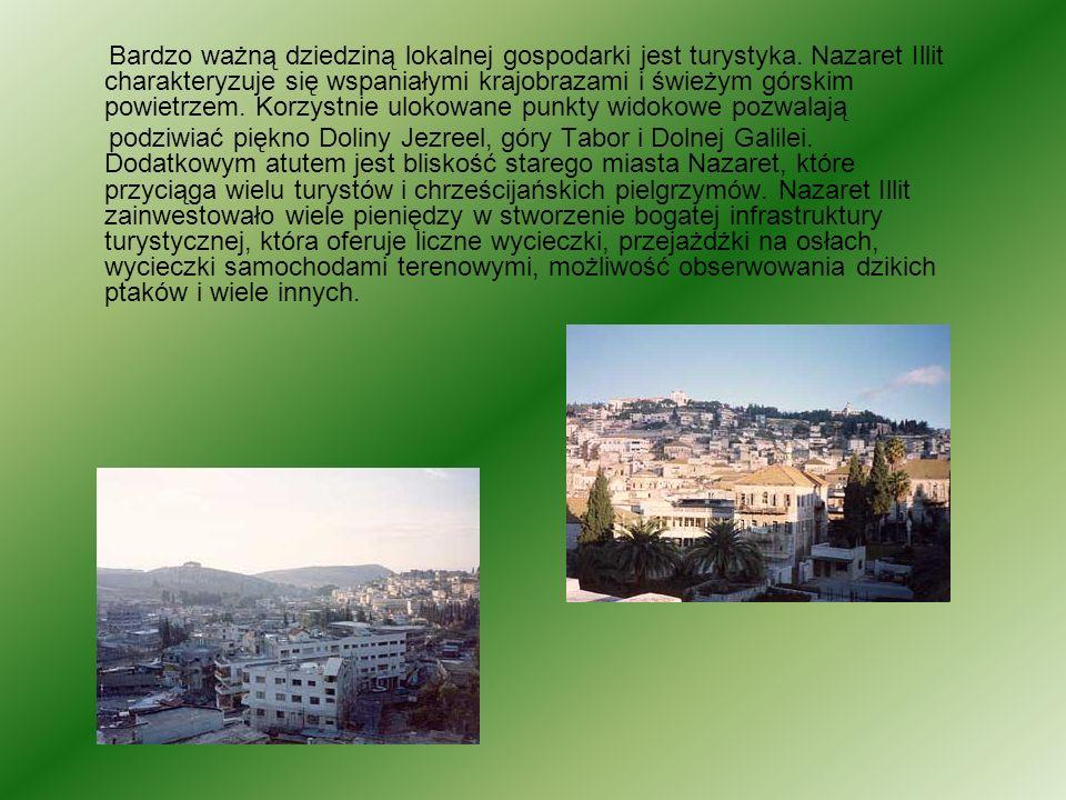 Bardzo ważną dziedziną lokalnej gospodarki jest turystyka. Nazaret Illit charakteryzuje się wspaniałymi krajobrazami i świeżym górskim powietrzem. Kor