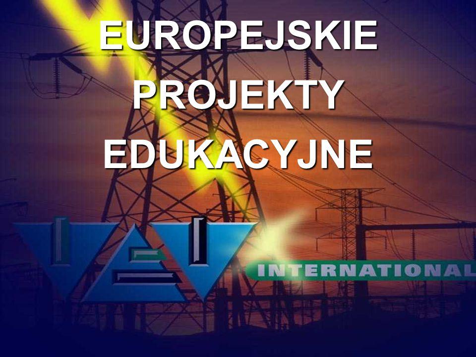 EUROPEJSKIE PROJEKTY EDUKACYJNE