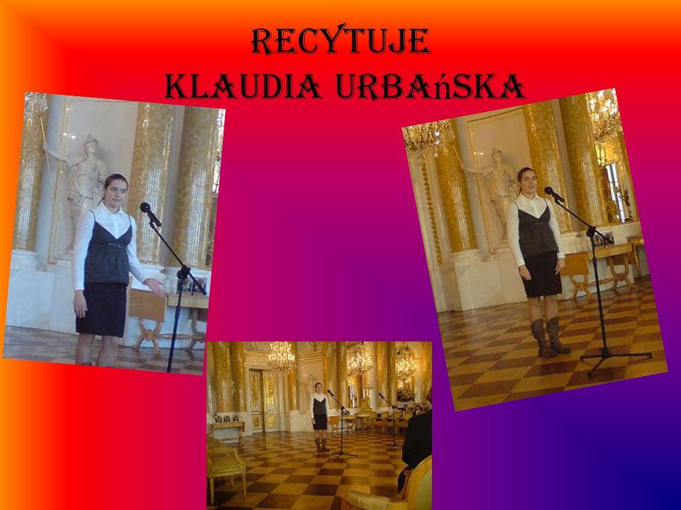 RECYTUJE Klaudia Urba ń ska