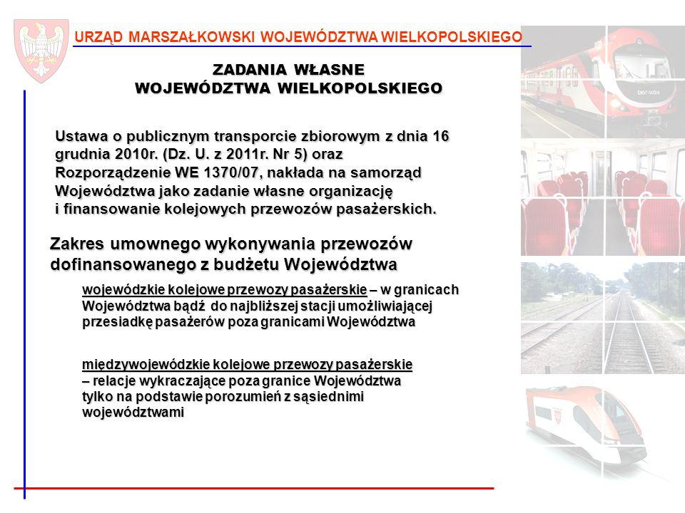 2 URZĄD MARSZAŁKOWSKI WOJEWÓDZTWA WIELKOPOLSKIEGO Ustawa o publicznym transporcie zbiorowym z dnia 16 grudnia 2010r. (Dz. U. z 2011r. Nr 5) oraz Rozpo