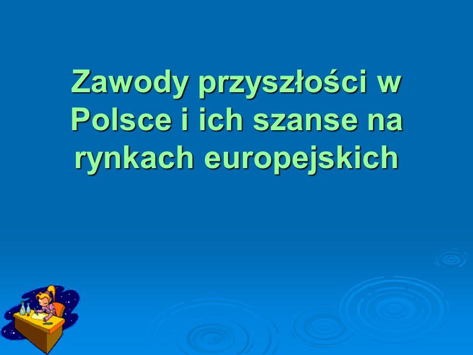 Zawody przyszłości w Polsce i ich szanse na rynkach europejskich