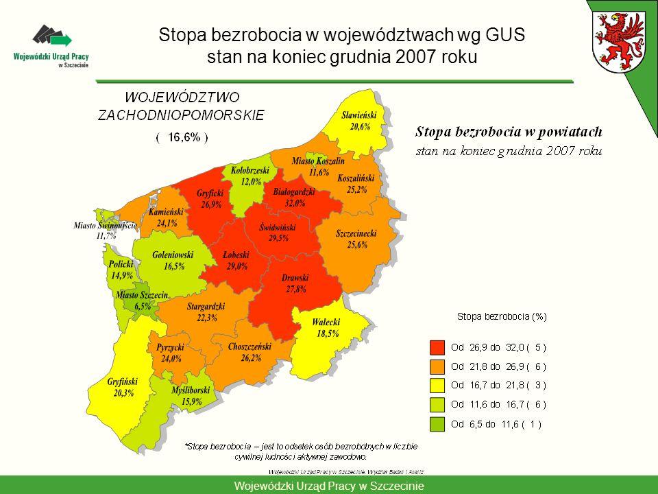 Wojewódzki Urząd Pracy w Szczecinie Największe obszary powstawania nowych miejsc pracy w Polsce – prognoza na lata 2001-2025 Wyszczególnienie Przyrost zatrudniania 2001- 2025 w tys.
