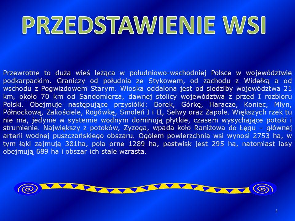 Przewrotne to duża wieś leżąca w południowo-wschodniej Polsce w województwie podkarpackim. Graniczy od południa ze Stykowem, od zachodu z Widełką a od
