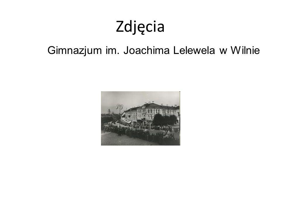 Zdjęcia Gimnazjum im. Joachima Lelewela w Wilnie