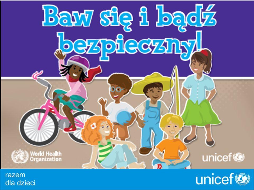 Projekt edukacyjny UNICEF – Baw się i bądź bezpieczny! PartnerPatronaty Honorowe:
