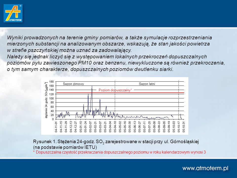 Wybór wariantów ograniczania niskiej emisji dla gminy Pszczyna (uwagi ogólne) Celowe wydaje się rozpoczęcie działań, zmierzających do ograniczenia niskiej emisji od obszarów, które zidentyfikowano jako miejsca występowania najwyższych wartości emisji, przypadających na jednostkę powierzchni.