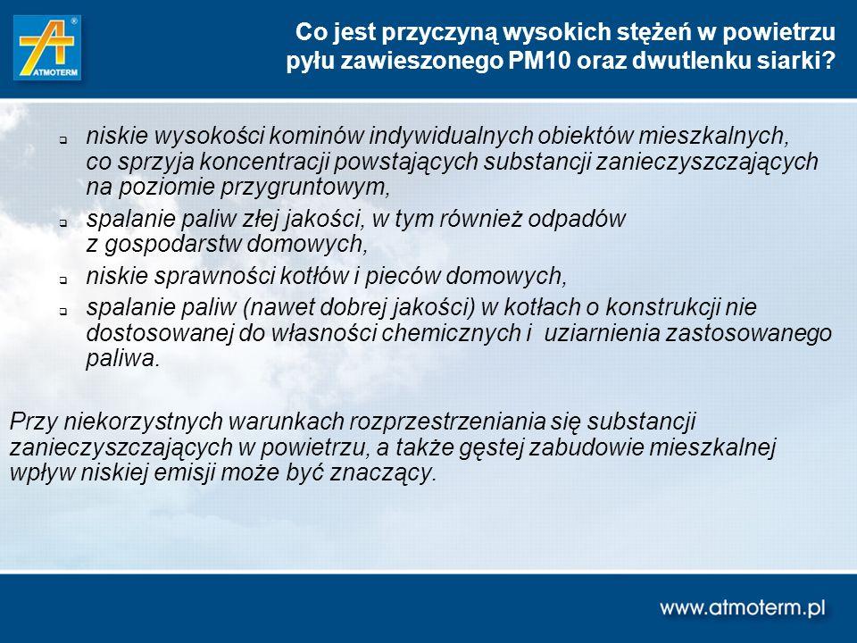 Wybór wariantów ograniczania niskiej emisji dla gminy Pszczyna (uwagi ogólne) Tabela 1.