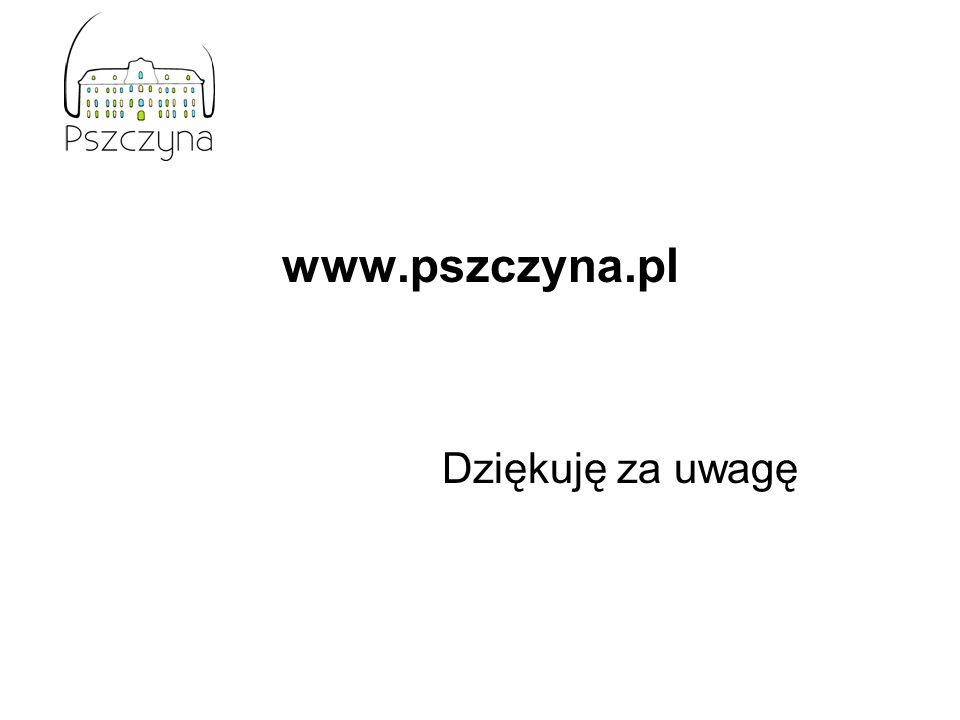 www.pszczyna.pl Dziękuję za uwagę