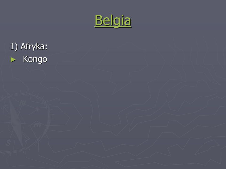 Belgia 1) Afryka: Kongo Kongo