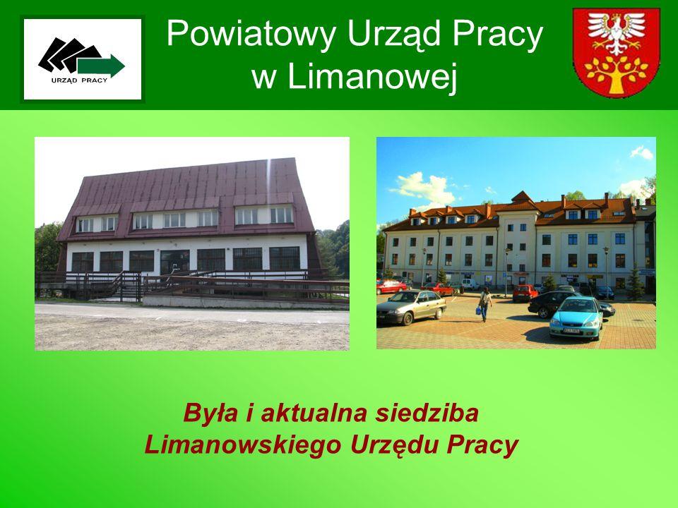 Powiatowy Urząd Pracy w Limanowej Pierwsza ustawa 29 grudnia 1989r.