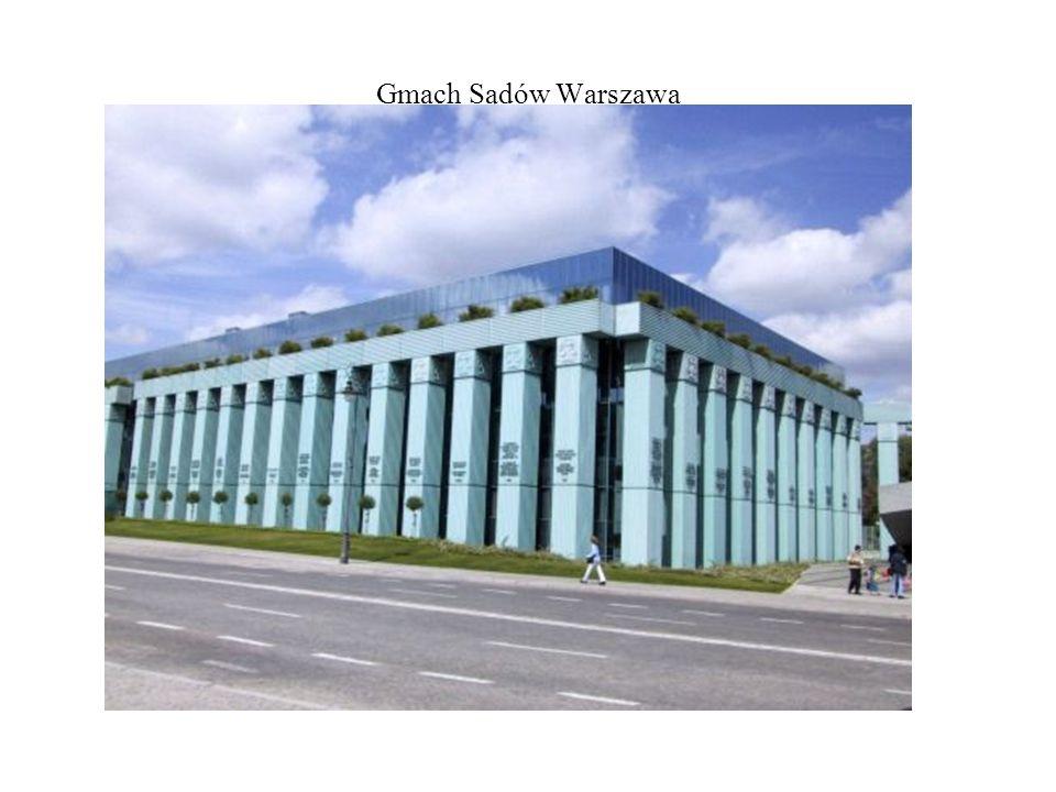 Gmach Sądów Warszawa