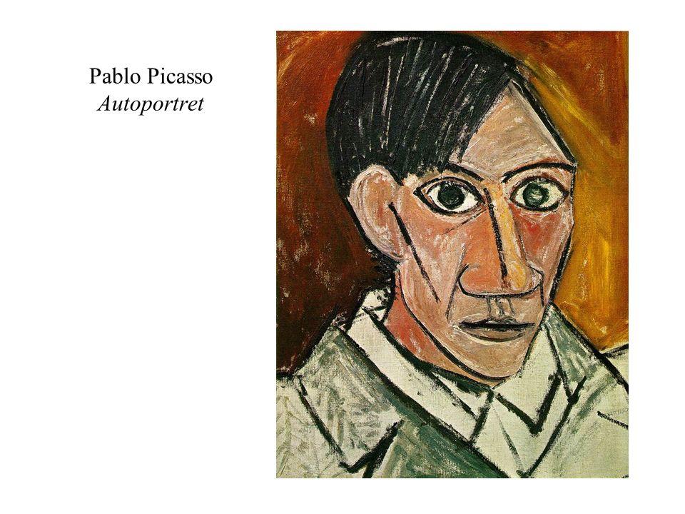 Pablo Picasso Autoportret