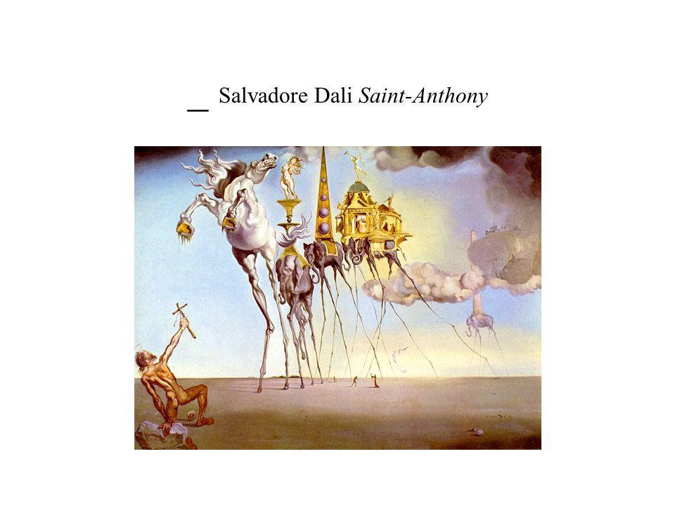 _ Salvadore Dali Saint-Anthony