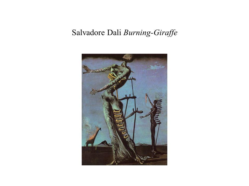 Salvadore Dali Burning-Giraffe
