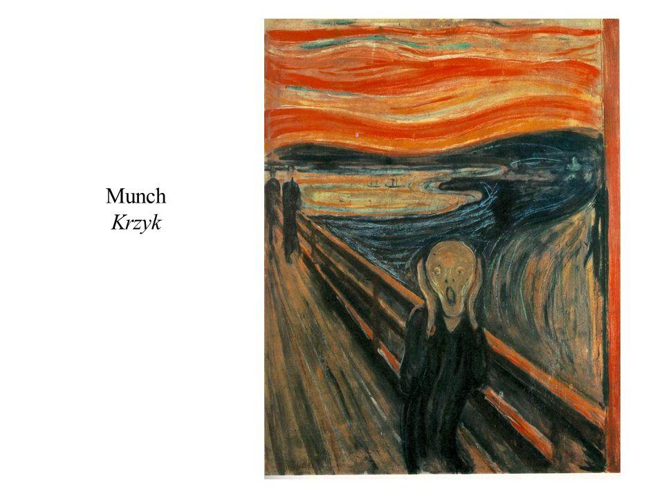 Munch Krzyk