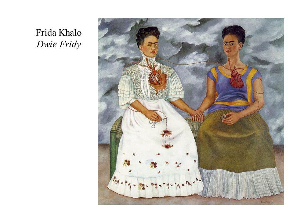 Frida Khalo Dwie Fridy