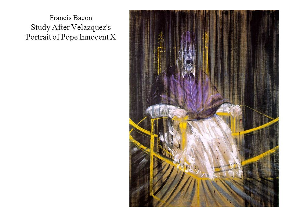 Francis Bacon Study After Velazquez's Portrait of Pope Innocent X
