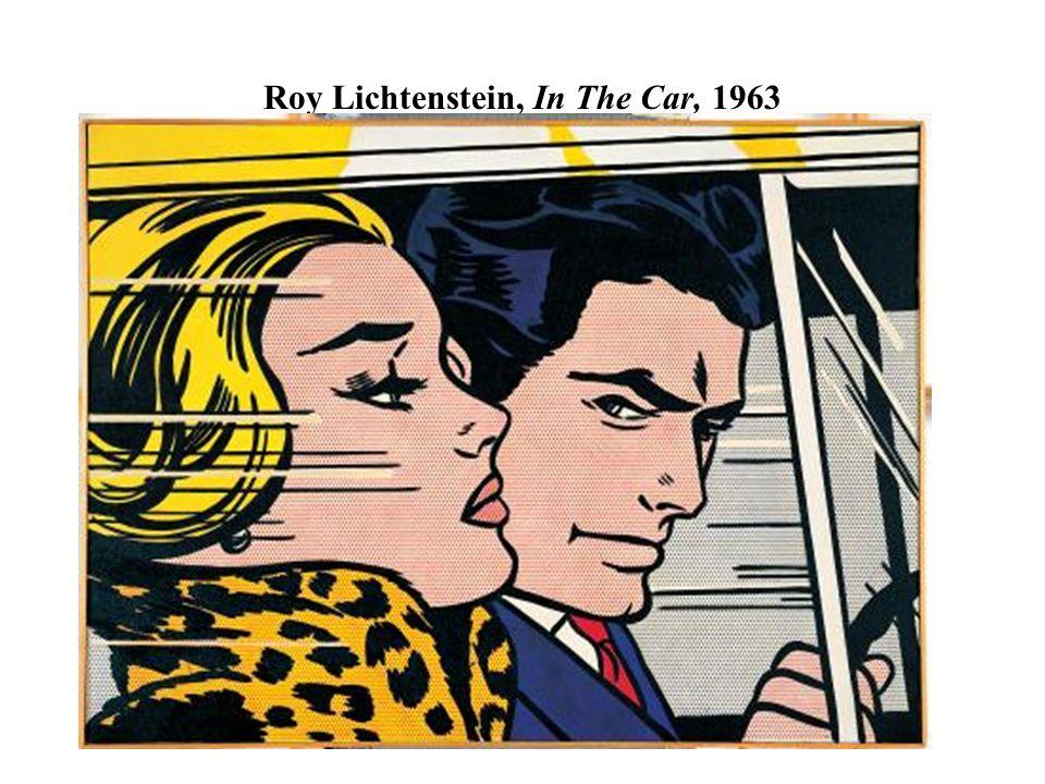 Roy Lichtenstein, In The Car, 1963