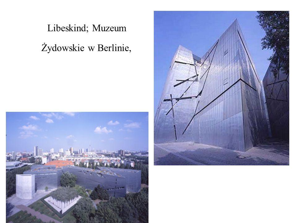Libeskind; Muzeum Żydowskie w Berlinie,