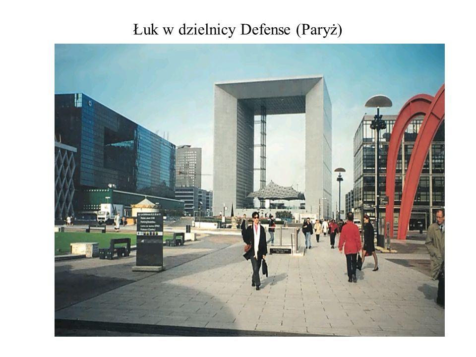 Łuk w dzielnicy Defense (Paryż)