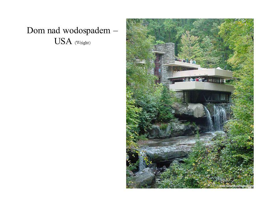 Dom nad wodospadem – USA (Wright)