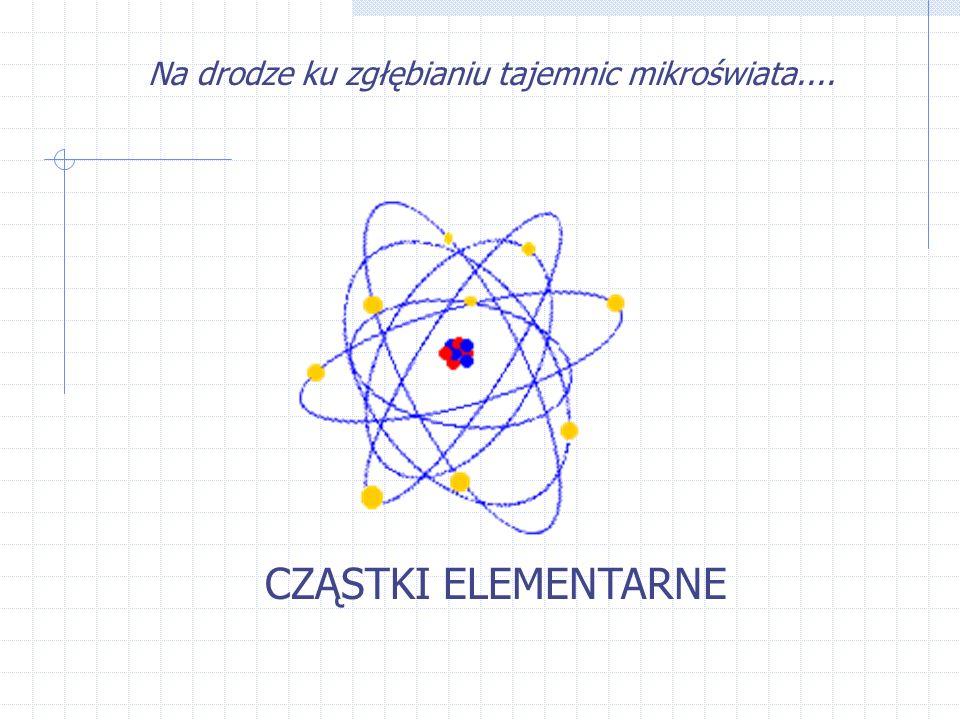 Dlaczego fizycy chcą badać cząstki.