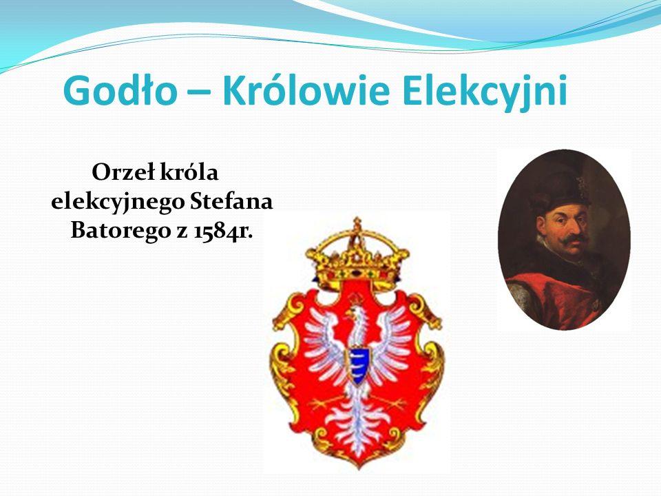 Godło – Królowie Elekcyjni Orzeł króla elekcyjnego Stefana Batorego z 1584r.