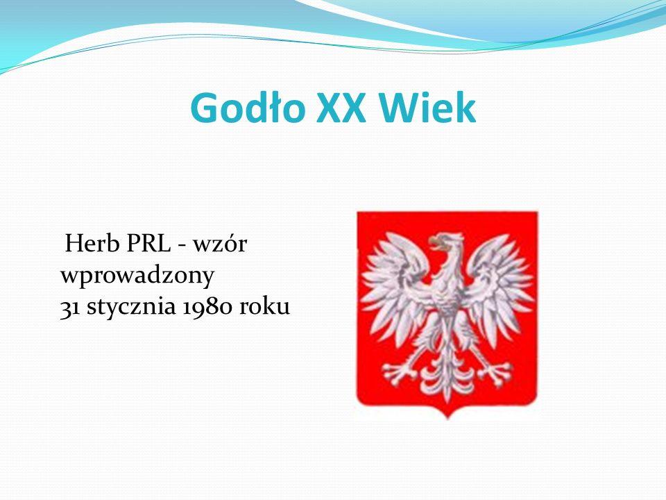 Godło XX Wiek Herb PRL - wzór wprowadzony 31 stycznia 1980 roku