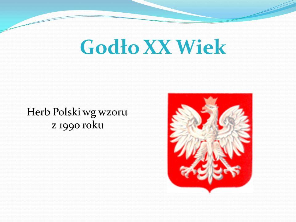 Godło XX Wiek Herb Polski wg wzoru z 1990 roku