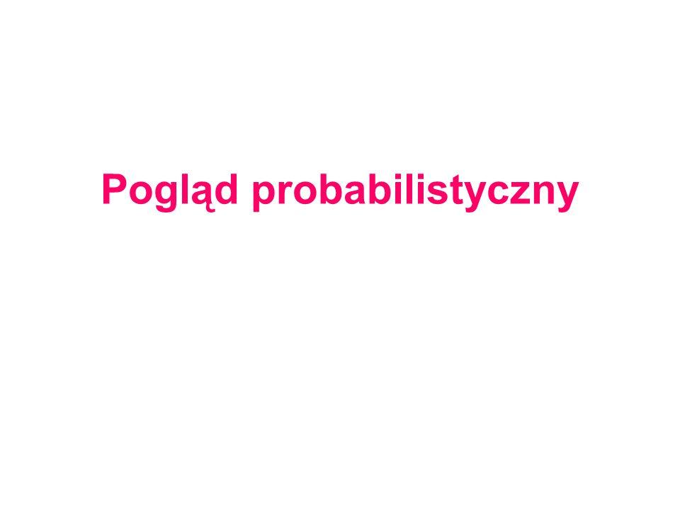 Pogląd probabilistyczny