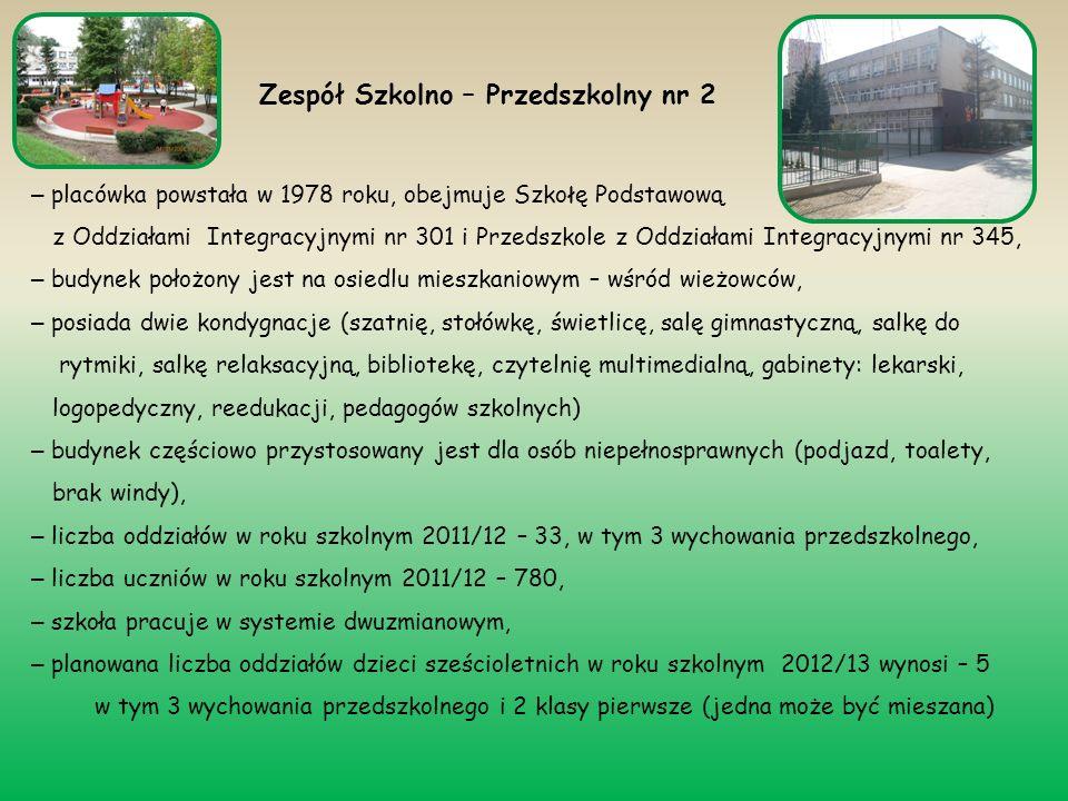 – placówka powstała w 1978 roku, obejmuje Szko ł ę Podstawową z Oddziałami Integracyjnymi nr 301 i Przedszkole z Oddziałami Integracyjnymi nr 345, – b