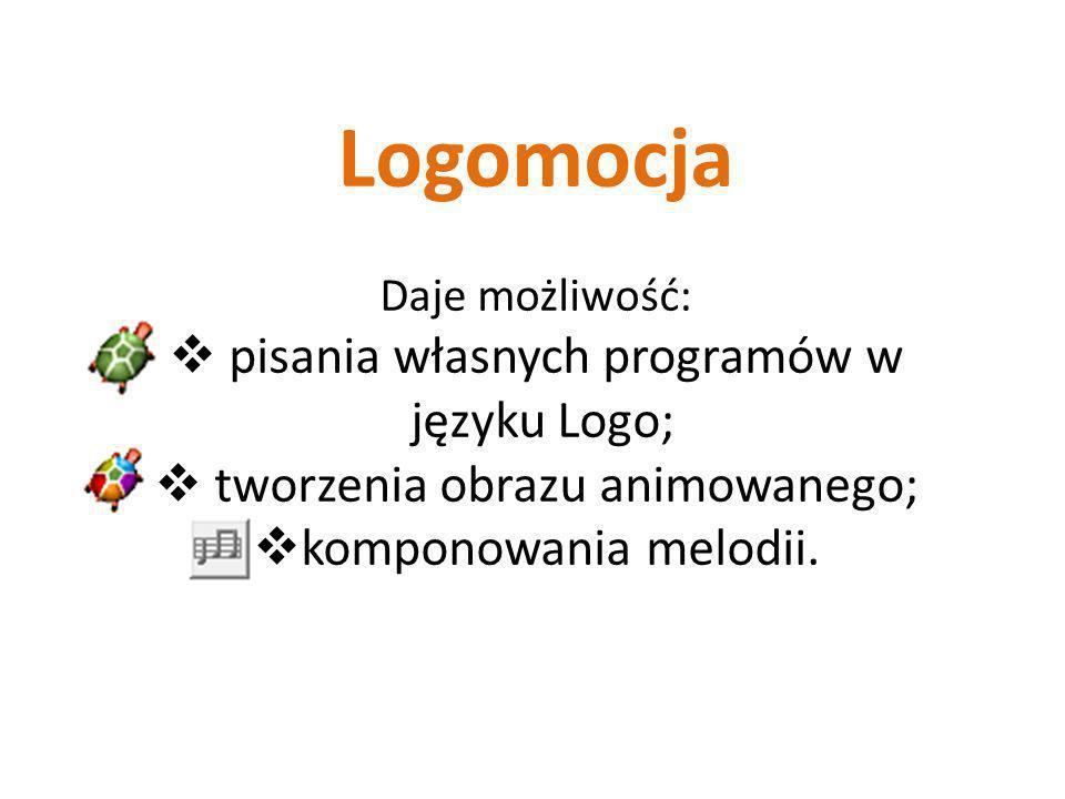 http://logo.oeiizk.waw.pl/ Strona poświęcona językowi programowania Logo oraz Logomocji