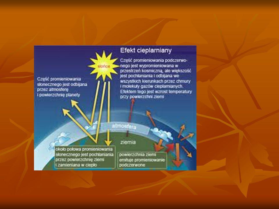 Prognoza wydarzeń związanych z efektem cieplarnianym Raport Międzynarodowego Zespołu do Zmian Klimatycznych jest pesymistyczny.