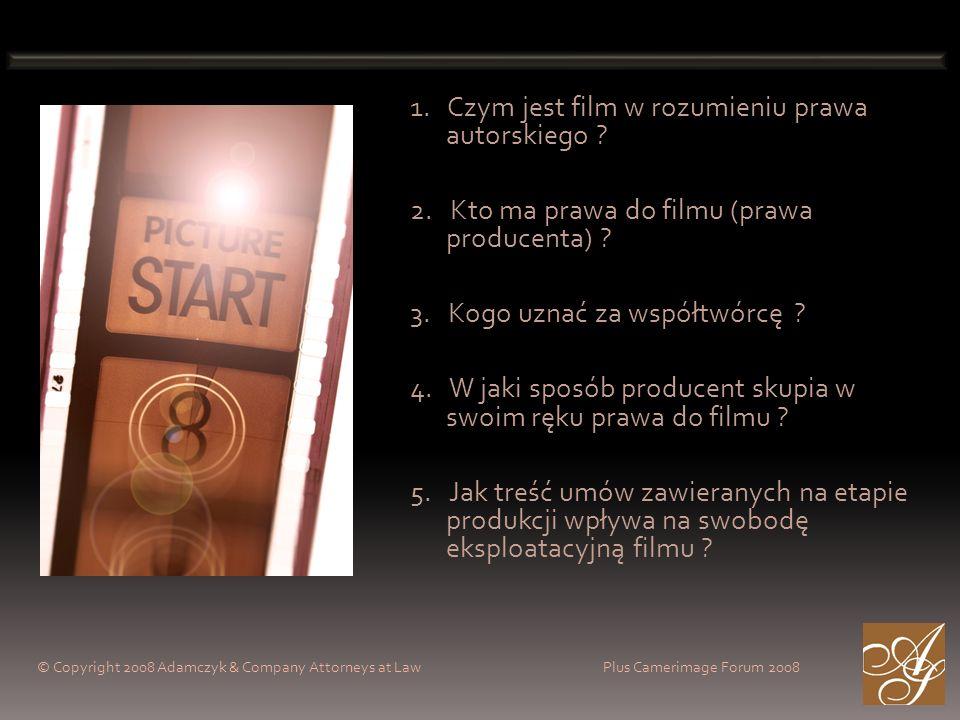 1. Czym jest film w rozumieniu prawa autorskiego .