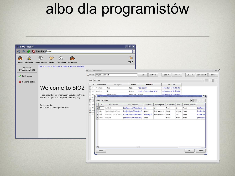 GUI: dla ludzi albo dla programistów