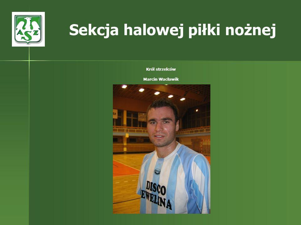 Król strzelców Marcin Wacławik Sekcja halowej piłki nożnej